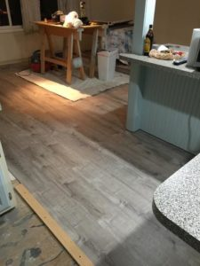 Smoked Oak Vinyl flooring